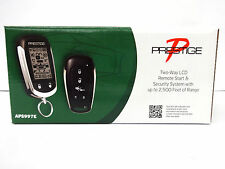Prestige 2-Way Remote Start Keyless Entry & Security System with Shock Sensor