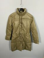 GUESS Quilted Puffer Coat - Size Medium - Brown - Great Condition - Women's