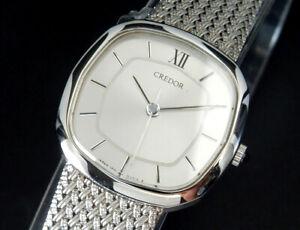 Working Seiko Credor Quartz Womens Ladies bracelet Watch 1271 uhr reloj montre