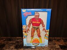 "Hulk Hogan Rare Signed LJN 16"" WWF WWE Action Figure Superstar Wrestling + Photo"