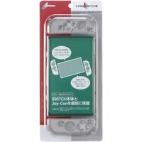 Cyber JAPAN Nintendo Switch Protect Cover Hard Case Clear Black