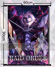 Fate Grand Order Jeanne d'arc Wall Scroll Poster Home Decor Art Gift 60*90cm#YW