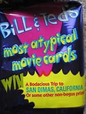 BILL & TED's MOST ATYPICAL MOVIE Near Set 98 of 100 CARDS Keanu Reeves 1991
