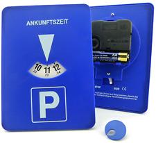 Mitlaufende Parkscheibe mit Uhrwerk Automatische elektronisch mitdrehend Parkuhr