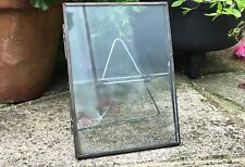 2x Industrial Glass Metal Vintage Photo Picture Frame Large 5x7 Portrait New