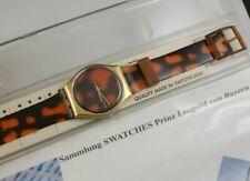 Swatch Sloan Ranger GX104 Gent 1988 Quarz mit Box ungetr. Sammlung Prinz Leopold