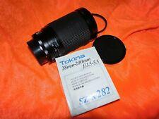 Tokina SZ-X F = 28-200mm 1:3. 5-5.3 macro no. 8811236 for Canon FD