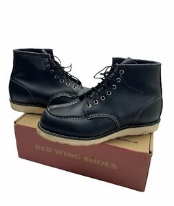 Red Wing Heritage Black Boots | UK9