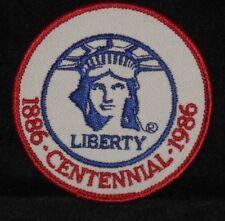 1986 Centennial Of The Statue Of Liberty Centennial Patch - (1886 to 1986)