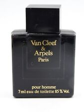 VAN CLEEF & ARPELS POUR HOMME EDT MINI PERFUME * NEW WITHOUT BOX ~ 7 ml