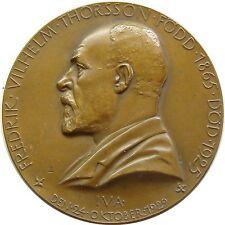 h242 Sweden Fredrik Vilhelm Thorsson * Titan Prometheus Greek mythology medal
