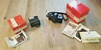 Pentax Asahi Auto 110 24mm F/2.8 Camera and 110 AF-130 P Flash