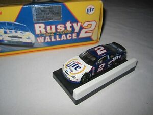 Rusty Wallace #2 Miller Lite 1999 Ford Taurus Action NASCAR Car 1:64
