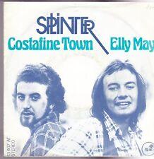 "7"" Splinter Costafine Town (George Harrison) / Elly May 70`s Dark Horse"