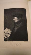 Erasme Les Colloques Nouvellement traduits par Victor Develay 1875