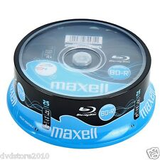 Maxell BD -R Vergini Vuoti 25 GB 4X Stampabili PRINT + 1 cd Verbatim 276071