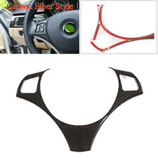 Fit for BMW 3Series E90 E92 E93 2005-2012 Carbon Fiber Look Steering Wheel Cover