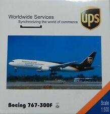 Net Models UPS United Parcel Service Boeing 767-300F 1:500 Scale REG#N308UP New