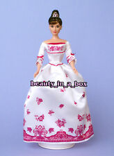 Audrey Hepburn in English Rose Garden Dress Celebrity Redress Barbie Doll NO BOX