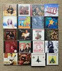 Lot of over 20 Christmas Music CDs in Great Conditions. 3 are Sealed.