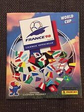 Panini WM 98 Sammelalbum WC 1998 KOMPLETT Album mit allen Sticker Stickeralbum