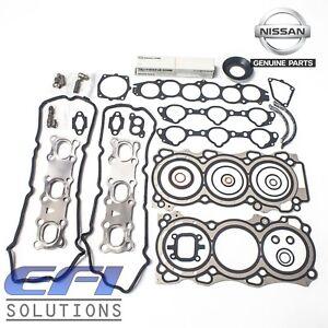 "Genuine Nissan Engine Gasket Kit (VQ35HR) ""Z33 - 350Z & V36 - Skyline"""