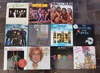 Bulk of 11 Vinyl Records Pop, Rock : Clover, Status Quo, Pablo Cruise Servant...