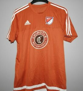 MLS Adidas Chipotle Soccer Football Jersey New Mens Sizes