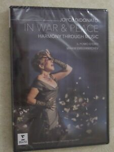 'Joyce DiDonato - In War & Peace - Harmony Through Music' DVD New Sealed