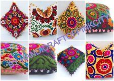 Suzani Embroidered Cushion Cover Wholesale Lot 100 Pcs Pillow Case 40x40 CM Size