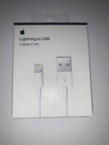Original Apple iPhone Lightning Charger iPhone 11,X,8,7,6,5,4,Xs,Xr,7+,8+,11Pro