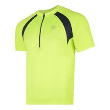 Abbiglimento sportivo da uomo giallo alta visibilità taglia XS