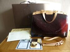 Genuine Louis Vuitton Amarante Monogram Vernis Brea GM Bag Immaculate Condition