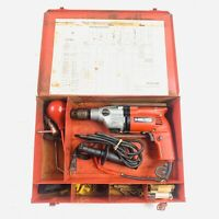 Hilti TM-7SII VSR Rotary Hammer Drill Corded With Bits And Taps
