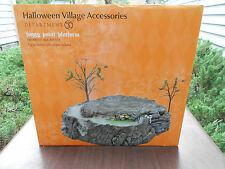 DEPT 56 HALLOWEEN VILLAGE FOGGY POINT PLATFORM NIB