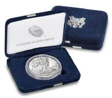 New! 2018-W Proof American Silver Eagle Coin with box and COA / In Stock