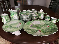 Shafford Rabbit Patch Collectible Dinnerware Set Vintage Easter & Serving Pc 29