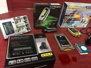 Lotto Mp3, Ricevitori Bluetooth, Caricabatterie, Scheda Satellite, Speaker Audio