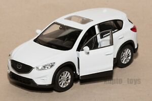 Mazda CX-5 White, Welly scale 1:34-39, model toy car gift
