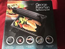New George foreman fat reducing grill family 4 portion large