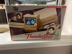 Rare Thunderware ThunderScan For MacIntosh