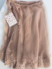 Free People Tulle Mini Wrap Skirt, Size XS/S, New With Tags