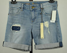 Kut from the Kloth Catherine Womens Distressed Cuffed Boyfriend Denim Shorts  2