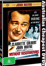Without Reservations DVD NEW, FREE POSTAGE WITHIN AUSTRALIA REGION 4