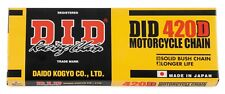 DID Standard 420 Motorcycle ATV Chain 420 x 132 Non O-Ring 420x132 W/ Masterlink