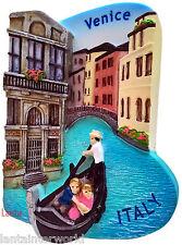 Venice Gondola Italy Italian Canals Europe 3D Fridge Magnet Holiday Refrigerator