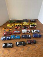 Lot of 23 Die Cast Cars Trucks Matchbox Hot Wheels Formica Mattel