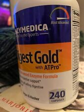 Enzymedica Digest Gold with ATPro - 240 Capsules - Exp 2022