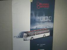RARE CATALOGUE VENDEUR CORGI Gd FORMAT 2ém TR.2000/ SPECIAL BUS :1950 à RECENTS