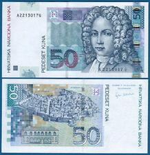Croazia/Croatia 50 Kuna 2002 UNC p.40
